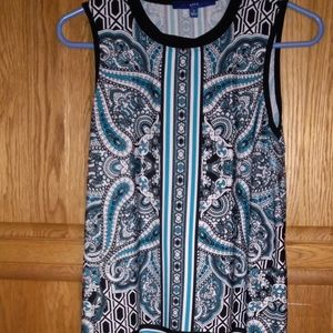"""New tunic top by Apt.9 size S bust 36"""""""